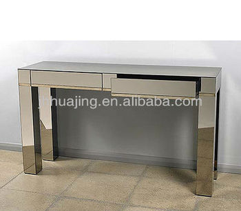drawers mirrored product mirror bentley with home tables table living glass contemporary console