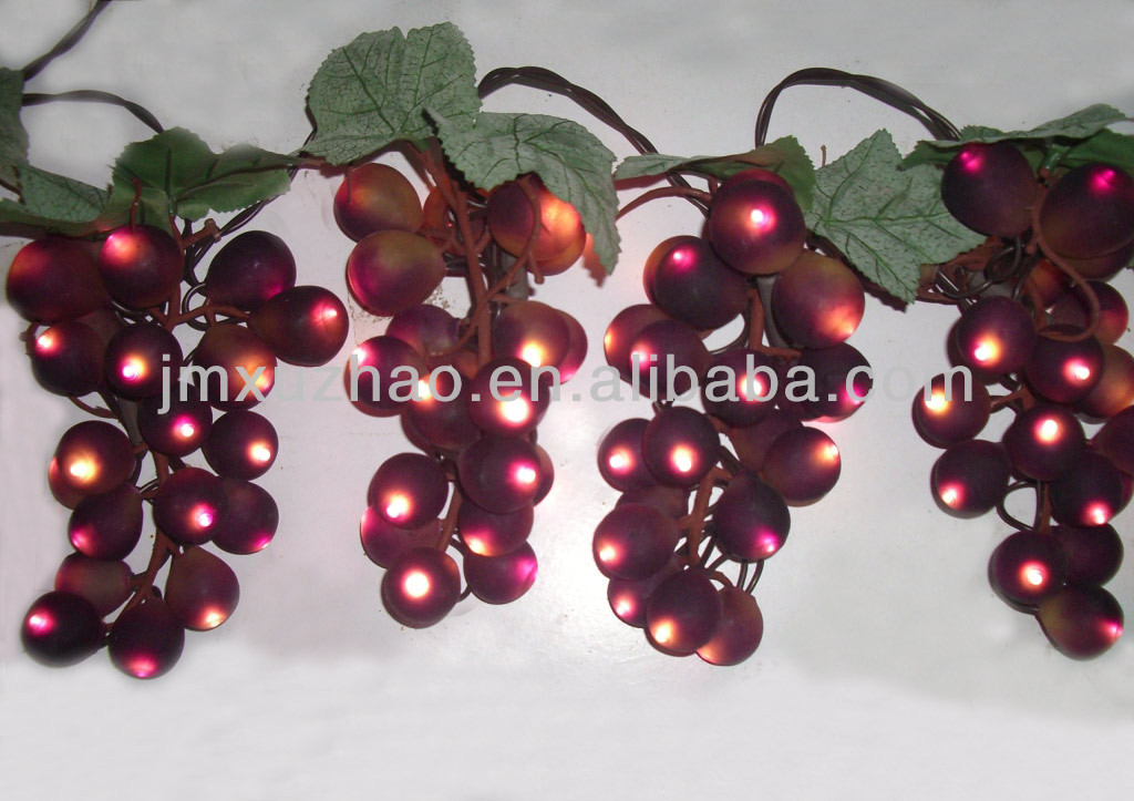 purple color grape lights christmas lights brown wire buy decorative string christmas lightsgrape cluster lightsled grape lights product on alibaba