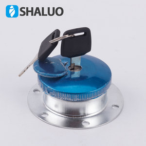 Diesel generator set accessories fuel port with key lock anti-theft protection car truck forklift mechanical fuel tank cap