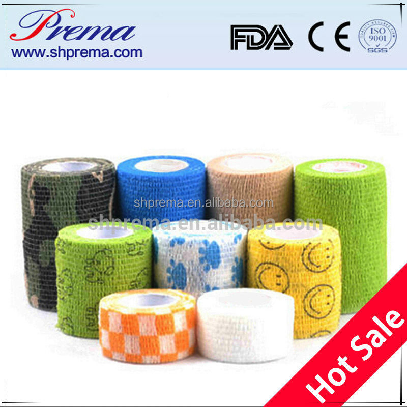Quality First FDA APPROVED nonwoven cohesive ice hockey grip tape