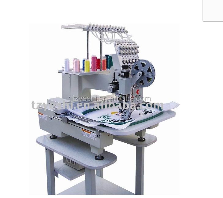 Automatic computer Single head compact embroidery machine price