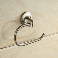 Modern Nickel Wall-Mounted Bathroom Accessories Sets for Bath Fittings