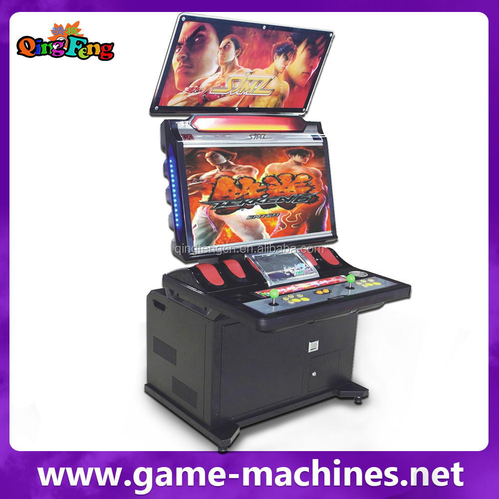 Qingfeng 32 Lcd Fighting Game Machine 2015 Hot Sale Coin Operated ...