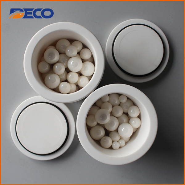 Zirconium Oxide Lab Planetary Ball Mill Grinding Jar Cup Bowl