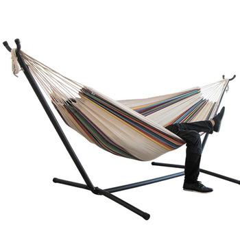 Outdoor Portable Folding Hammock With Frame Stand And Carrying