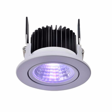 RGB RGBW verzonken led <span class=keywords><strong>downlights</strong></span> DC24V gekanteld wit zilver