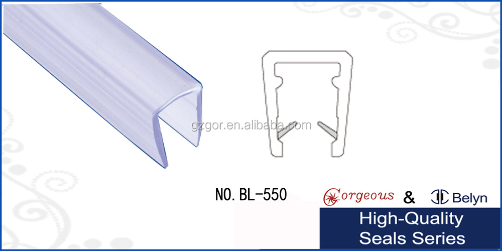 Bottom Soft Rubber Channel Seal Bifold Fold Folding Bath