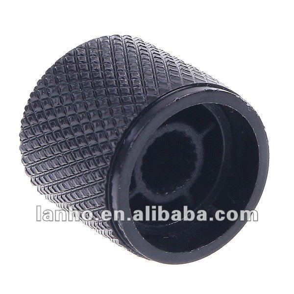 BLACK Metal Dome Knob for Electric Guitar Bass Parts
