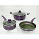 aluminum non stick cookware set magic color changing with cooking