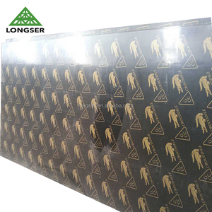 Poplar Laminated 18mm Phenolic Board for Construction