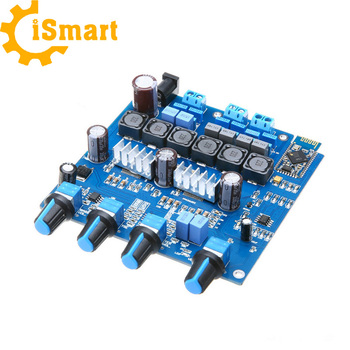 New Tpa3116 2 1 Amplifier Board 20hz To 20khz Pro Bluetooth 4 0 Class D  Digital Amplifier Board 100w+2*50w - Buy Tpa3116 Module,2 1 Amplifier