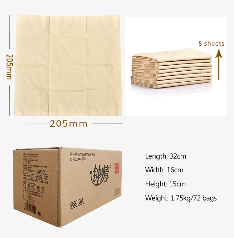 High Quality Facial Tissue Pack  OEM Branded Advertising Manufacturers mini  Pocket Tissue Style