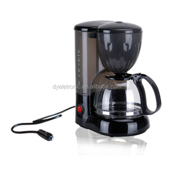 12 24 V Portable 0.6L Coffee Maker Quick Cup Coffee Maker for camping