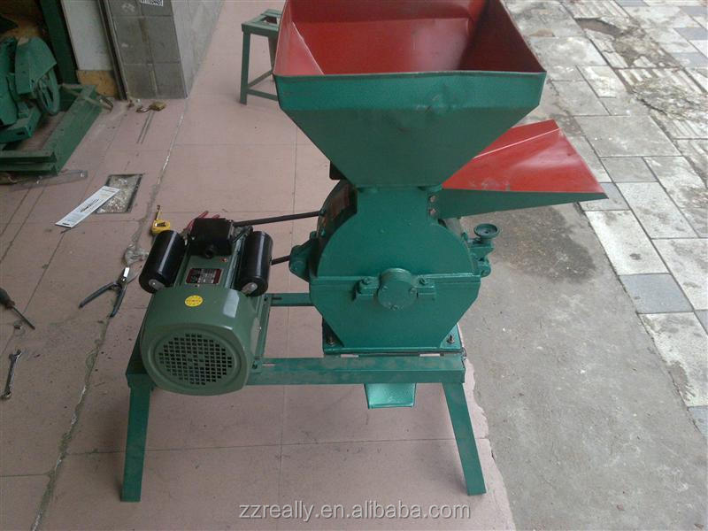 FEED MILL GRINDER / CORN GRAIN CRUSHER. The factory declared that during the grinding process you can regulate the flow of grain, thereby adjust how fine the grain is.