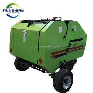 CE Approved Mini Hay And Grass Baler For Europe Market