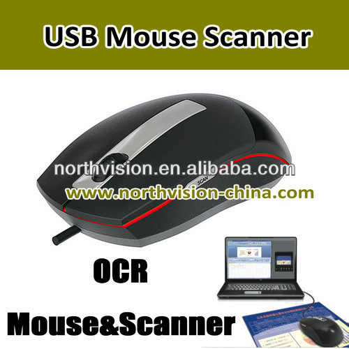 USB PC mouse portable scanner A3