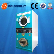 Energy saving laundry automatic 8kg coin operated washer dryer commercial