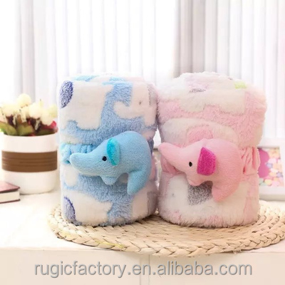 Super Soft Fabric Fleece Minky Blanket for Baby