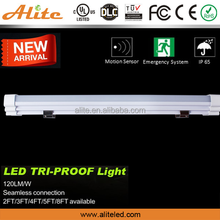 IP65 Tri-proof LED Light 60w lamp tube 1500mm 5ft led outdoor light 220v LED linear batten