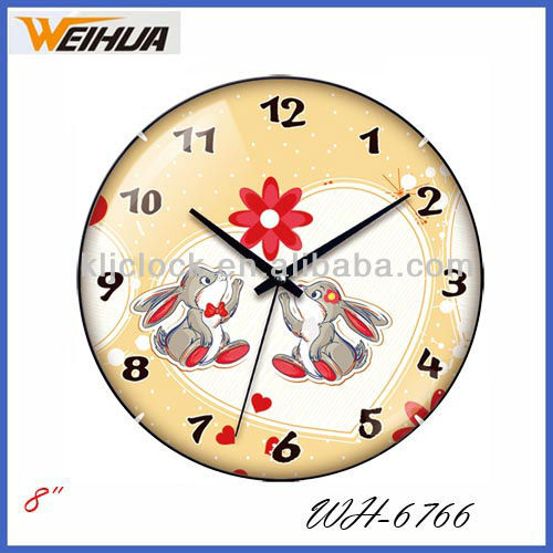 Cartoon Wall Clocks Wh-6766 Animal Wall Clock With Special Design ...