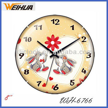Cartoon Wall Clocks Wh6766 Animal Wall Clock With Special Design