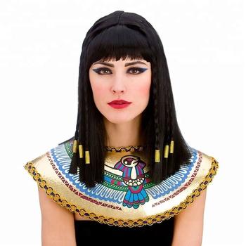 Cléopâtre Égyptienne Perruque Dames Femmes