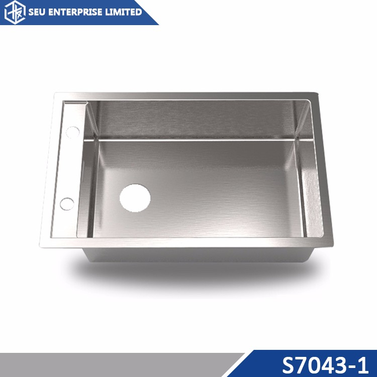 Modern Unique SS Stainless steel Undermount Small Deep Square Sink For Kitchen