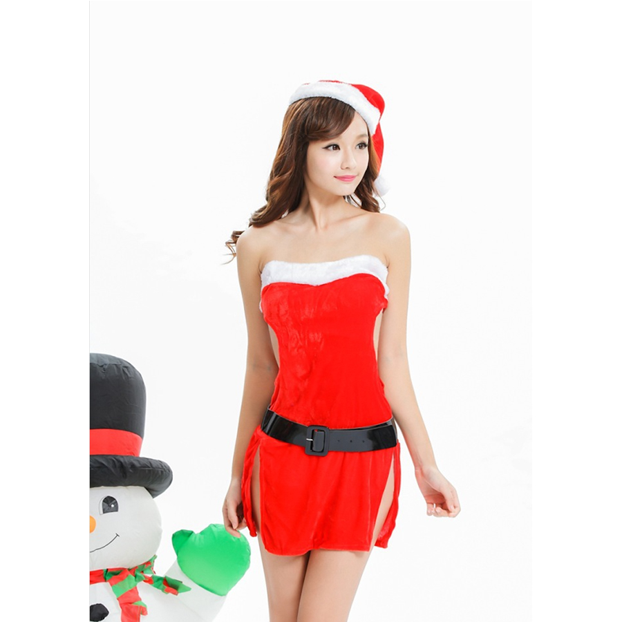 Fantasy girls cute unique christmas costumes