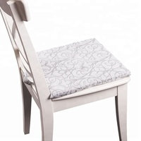 Latest product comfortable seat dining horse chair pads