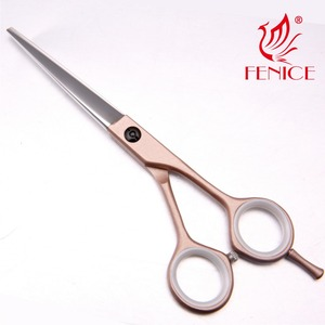 5.5inch Newest design Best quality professional Japanese HITACHI titanium hair cutting scissor