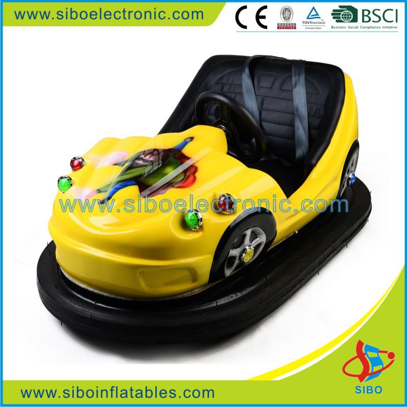 Electric Go Kart Coin Operated Kids Battery Ufo Bumper Car Parts For