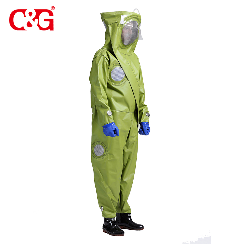 New style protective clothing beekeeper outfit ventilated bee suit