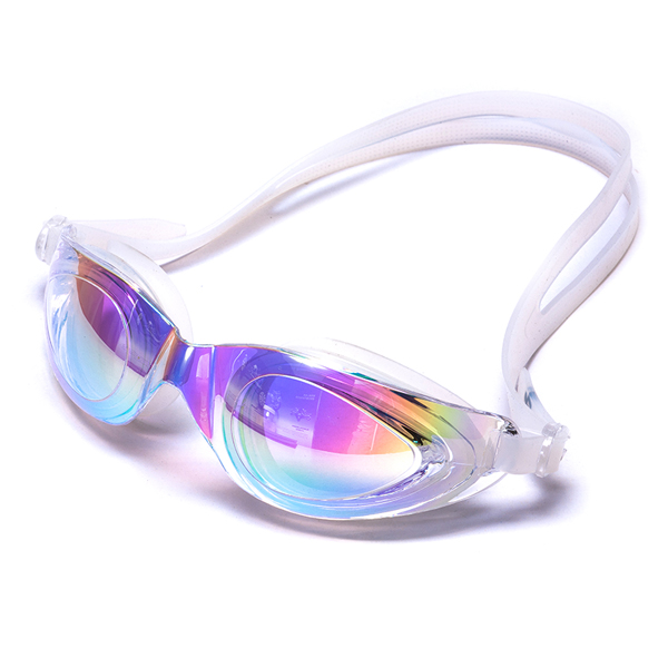 Made for female Mirror coated silicone swimming accessories swimming Goggles