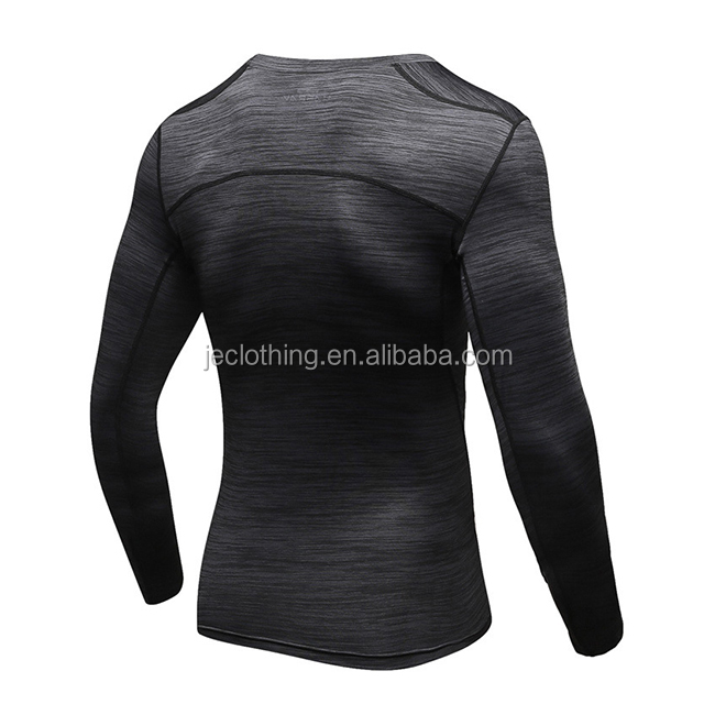 Wholesale Men Long Sleeve Printed High Elastic Gym Clothing BJJ MMA Rash Guard