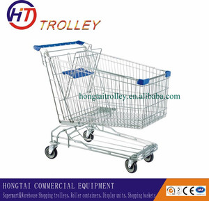 Aluminum Shopping Trolley, Korea Supermarket Trolleys for Sale