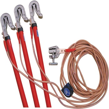 Electric Wiring Set Personal Safety Grounding Equipment Security Earth Wire