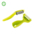 Household 4 in 1 stainless steel apple vegetable julienner potato peeler set with plastic handle