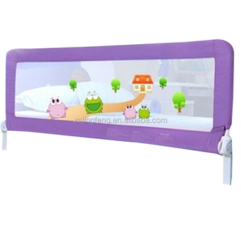Custom Painting Folding Baby Bed Side Protection Folding ...