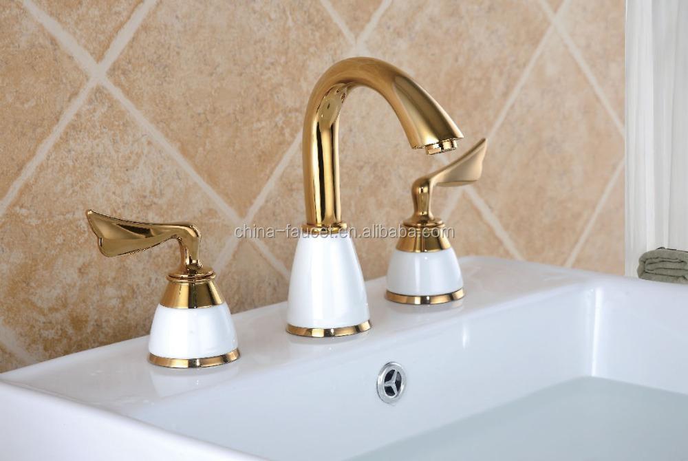 Huayi Art Gold-plated Faucet - Buy Huayi Faucet,Art Faucet,Gold ...