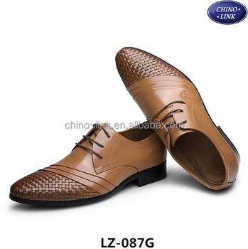 official unique design professional New italian design man genuine leather shoe, low cut man dress shoe, View  leather shoe, chino-link Product Details from Jinjiang Chenfeng Shoe ...