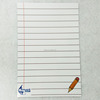 custom printing plastic paper magnetic dry erase board for kids