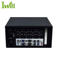 high performance industrial pc ubuntu iwill mini pc window 8 support one PCI-E X16and MIni-PCIE