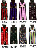 Fashion Men's Suspender Clips Belt With Free Random Sample