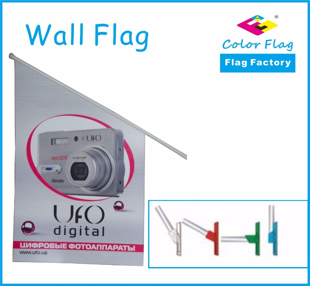 Durable Stylish Custom Wall Fag
