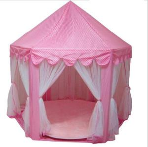 kids princess castle play tent for indoor or outdoor playing