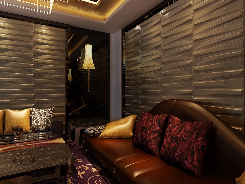 interior decoration 3d hotel designer wallpaper