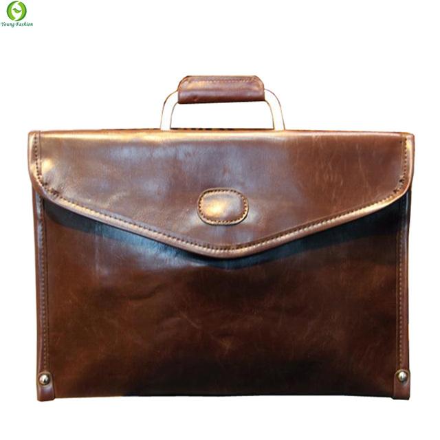 3da27fe7838b Молодая мода новые 2016 деловых людей сумки искусственная кожа сумки мужские  портфель .