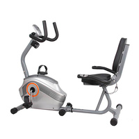 crane fitness equipment gym recumbent exercise bike for old man