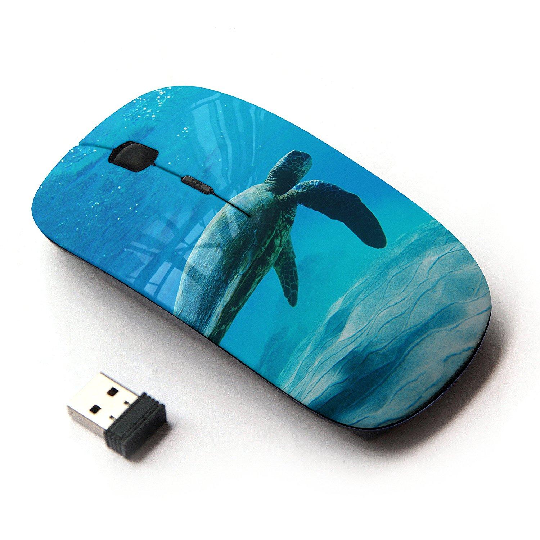 KOOLmouse [ Optical 2.4G Wireless Computer Mouse ] [ Turtle Sea Ocean Animal ]
