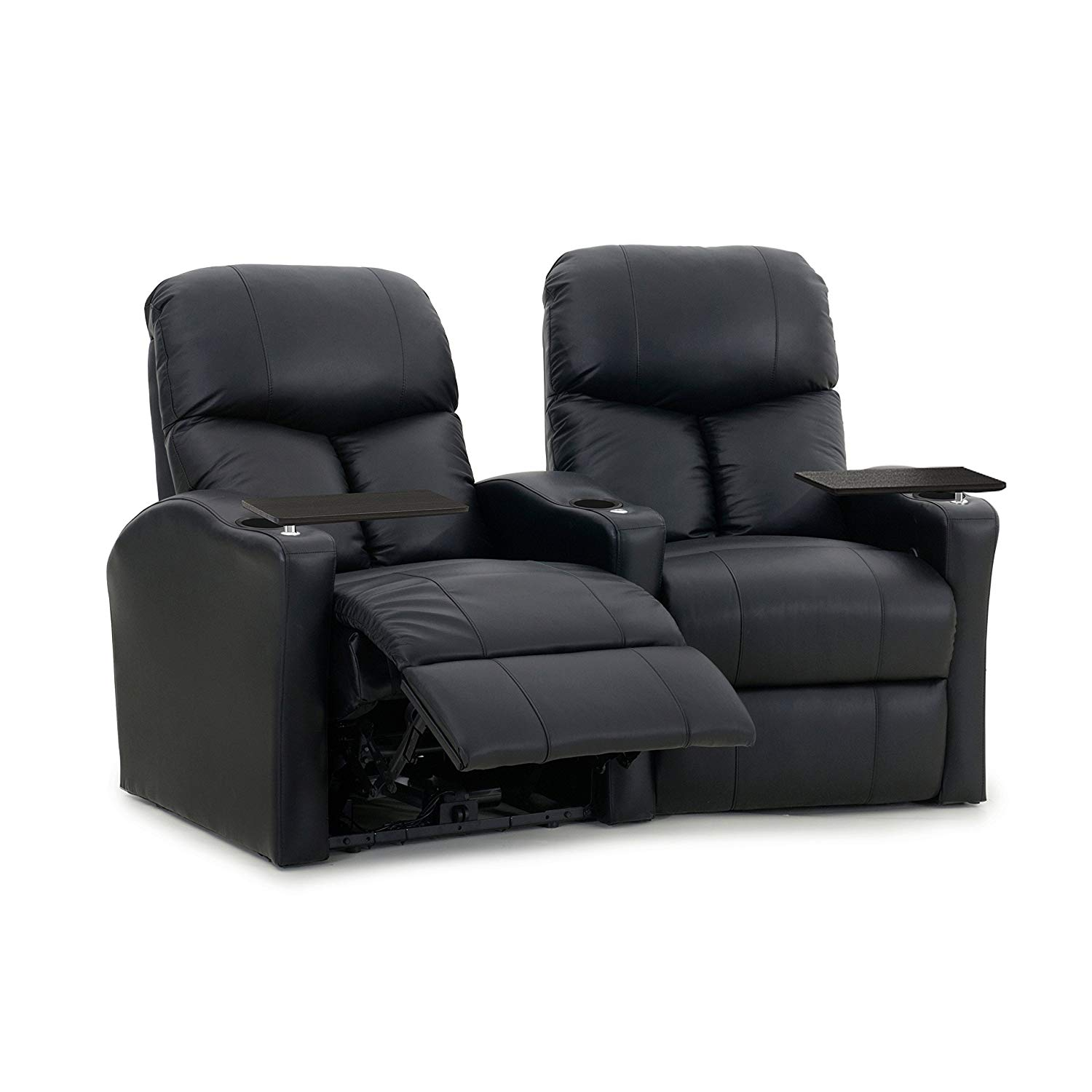 Octane Bolt XS400 Power Leather Home Theater Seating Set (Row of 2)